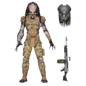 "NECA Predator (2018) – 7"" Scale Action Figure – Ultimate Emissary #1"