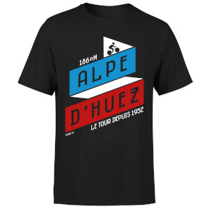 ALPE D'HUEZ Men's T-Shirt - Black