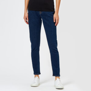 Calvin Klein Women's High Rise Slim Jeans - Blue