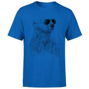 Balazs Solti Cool Bear Men's T-Shirt - Royal Blue