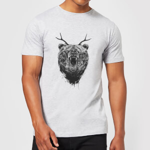 Balazs Solti Dear Bear Men's T-Shirt - Grey