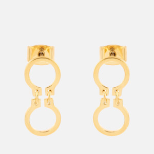 Whistles Women's Mini Circle Link Drop Earrings - Gold
