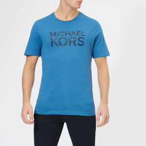 Michael Kors Men's Camo T-Shirt - Ocean