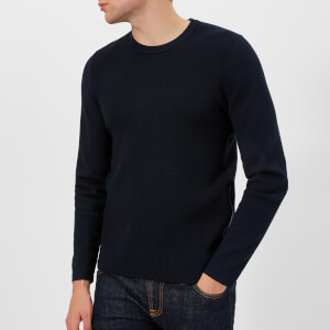 Michael Kors Men's Detailed Side Zip Sweater - Midnight