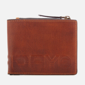 Superdry Men's Profile Leather Wallet in Tin - Tan