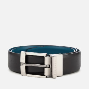 Ted Baker Men's Longas Leather Belt - Black