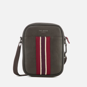 Ted Baker Men's Boxet Webbing Mini Flight Bag - Chocolate