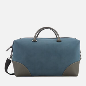 Ted Baker Men's Inferno Nubuck PU Holdall Bag - Blue: Image 1