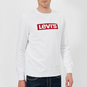 Levi's Men's Graphic Crew Sweatshirt - White