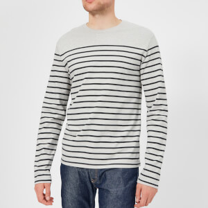 Levi's Men's Long Sleeve Mission T-Shirt - Market Gray Violet/Sky Captain