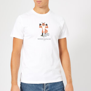 Maison Kitsuné Men's Pixel Fox T-Shirt - White