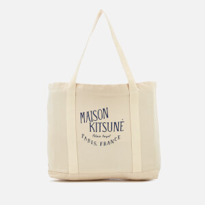 Maison Kitsuné Men's Palais Royal Shopper Bag - Ecru