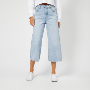 Levi's Women's High Water Wide Leg Jeans - Throwing Shade