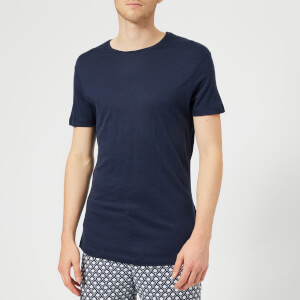 Orlebar Brown Men's OB-T Short Sleeve Merino T-Shirt - Navy