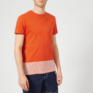 Orlebar Brown Men's Sammy Block Hem T-Shirt - Hacienda/Cloud