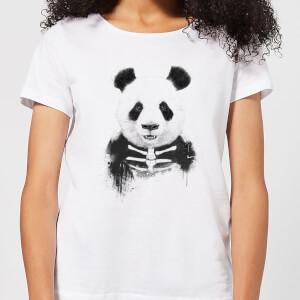 Balazs Solti Skull Panda Women's T-Shirt - White