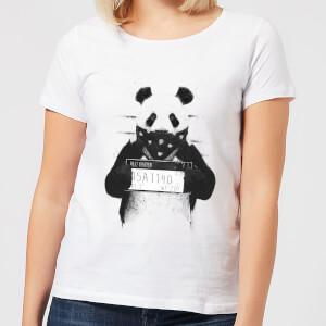 Balazs Solti Bandana Panda Women's T-Shirt - White