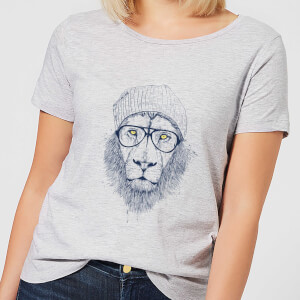 Balazs Solti Lion Women's T-Shirt - Grey