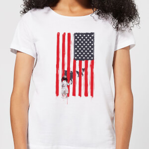 Balazs Solti USA Cage Women's T-Shirt - White