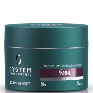 System Professional Man Sculpting Paste -muotoilutahna, 80ml
