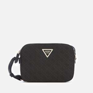 Guess Women's Kamryn Top Zip Cross Body Bag - Black