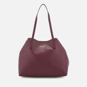 Guess Women's Vikky Tote Bag - Burgundy