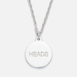 A.P.C. Men's Heads Tails Necklace - Argent