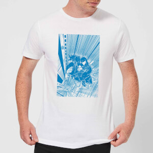 Venom Comic Panel Herren T-Shirt - Weiß