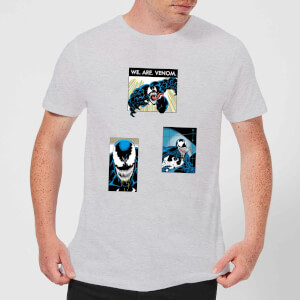 Venom Collage Men's T-Shirt - Grey