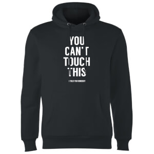 Balazs Solti Can't Touch This Hoodie - Black