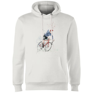 Balazs Solti Cycler Hoodie - White