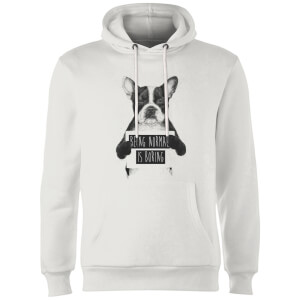Balazs Solti Being Normal Is Boring Hoodie - White