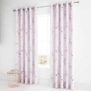 Catherine Lansfield Enchanted Unicorn Curtains