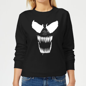 Venom Bare Teeth Damen Pullover - Schwarz