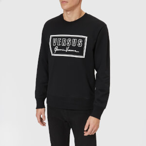 Versus Versace Men's Signature Logo Sweatshirt - Black