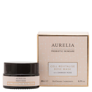 Aurelia Probiotic Skincare Cell Revitalise Rose Mask 20ml