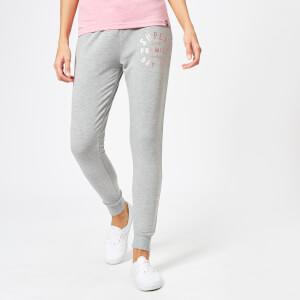 Superdry Women's Bella Loungewear Skinny Joggers - Sky Grey Marl