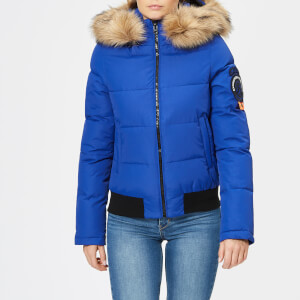 Superdry Women's Everest Ella Bomber Jacket - Cobalt