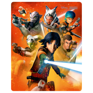 Star Wars Rebels Temporada 2 - Steelbook Edición Limitada Exclusivo de Zavvi (Edición UK)