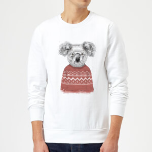 Balazs Solti Koala And Jumper Sweatshirt - White