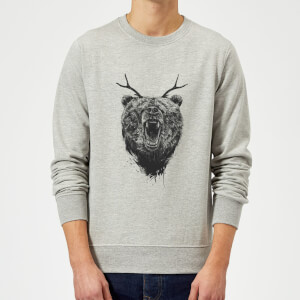 Balazs Solti Dear Bear Sweatshirt - Grey
