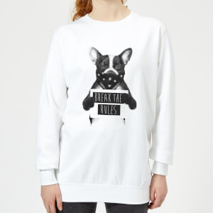 Break The Rules Women's Sweatshirt - White