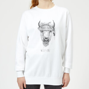 Wild One Women's Sweatshirt - White