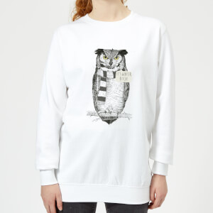 It's Winter, Bitch! Women's Sweatshirt - White
