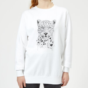 Love Hearts Women's Sweatshirt - White