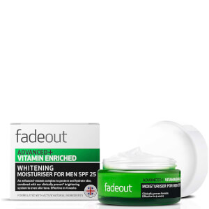 Fade Out Advanced + Vitamin Enriched Moisturiser for Men SPF 25 50ml