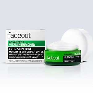Fade Out Advanced + Vitamin Enriched Moisturiser for Men SPF 25 50 ml