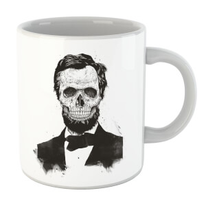 Balazs Solti Suited And Booted Skull Mug