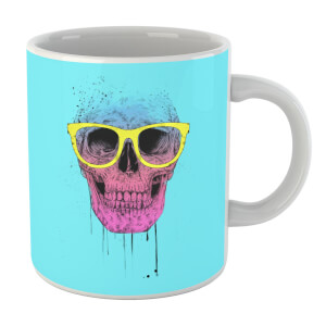 Balazs Solti Skull And Glasses Mug