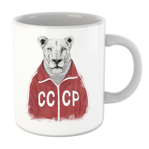 Balazs Solti CCCP Lion Mug